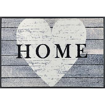 Heart at home 50 x 75 cm washable floor mat wash + dry