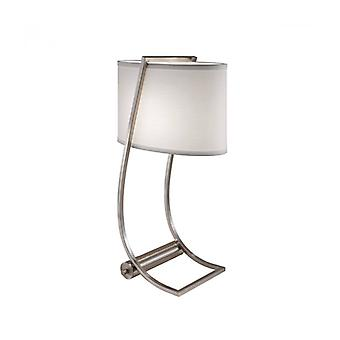 Lex Lamp, Bended Steel, With Lampshade And Usb Port