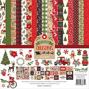 Echo Park My Favorite Christmas Collection Kit