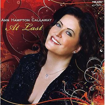 Ann Hampton Callaway - At Last [CD] USA import