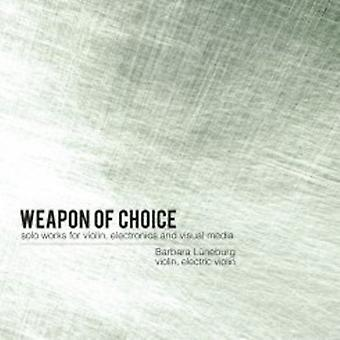 バーバラ リューネブルグ - 選択武器 【 DVD 】 USA 輸入