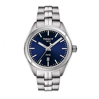 Montres Tissot T101.410.11.041.00 Pr100 Blue And Silver Stainless Steel Men-apos;s Watch