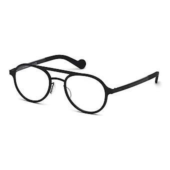 Moncler ML 5035 001 glanzend zwarte bril