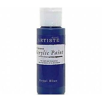 Royal Blue docrafts Artiste All Zweck Acryl Handwerk Farbe - 59ml