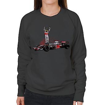 Motorsport Images Lewis Hamilton 2014 Wembley Women's Sweatshirt