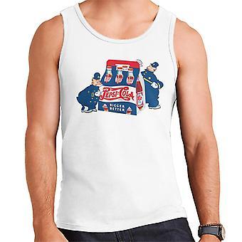 Pepsi Cola Cops retro mannen vest