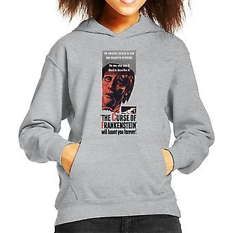 Hammer skräckfilmer Frankenstein kommer att hemsöka dig Forever Kid ' s Huvtröja