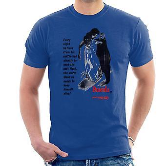Hammer Horror Filme Dracula jede Nacht er steigt Männer's T-Shirt