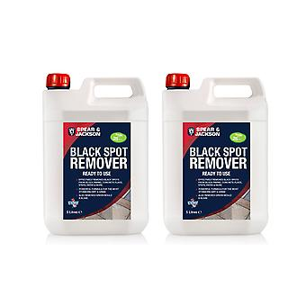 Spear & Jackson Ready To Use Black Spot Remover 2 X 5L