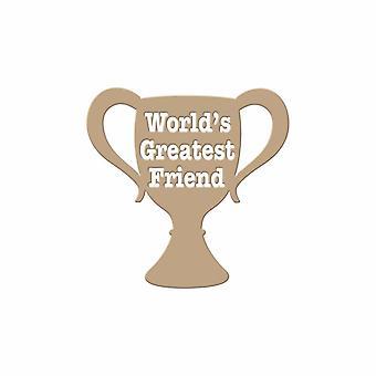 Spellbinders Glimmer Plate - World':n suurin ystävä