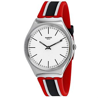 SYXS114, Swatch Men's Skinflag - Blanc