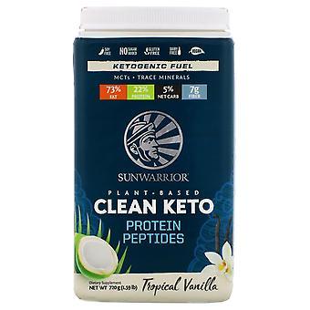 Sunwarrior, Plant-Based Clean Keto, Tropical Vanilla, 1.59 lb (720 g) Sunwarrior, Plant-Based Clean Keto, Tropical Vanilla, 1.59 lb (720 g) Sunwarrior, Plant-Based Clean Keto, Tropical Vanilla, 1.59 lb (720 g) Sunwar