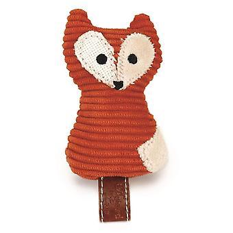 Conçu par Lotte Tex tuile Cat Toy Fox - Orange - 8cm