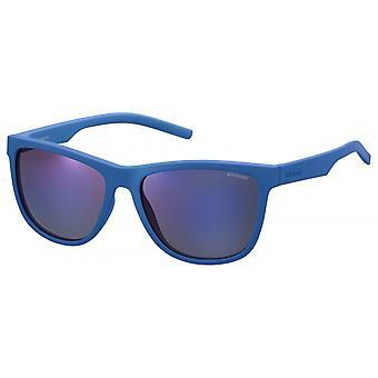 نظارات شمسية Unisex 6014/S ZDI/ JY مات الأزرق مع قرص المرآة
