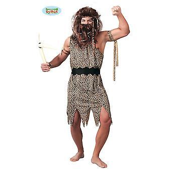 Disfraz de cavernícola para piedra Neanderthal de la edad del hombre primitivo de los hombres