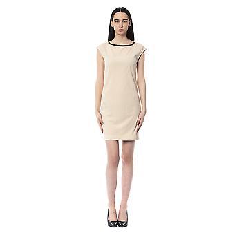 Byblos Avorio Dress BY994828-IT40-XS