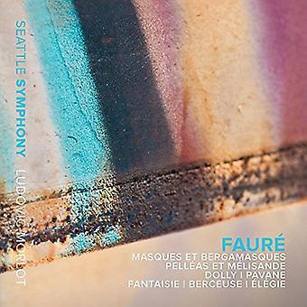 Seattle Symphony / Morlot / McGill / Velinzon - Masques Et Bergamasques [CD] USA import