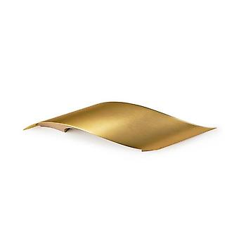 LED 1 Light Indoor Large Wall Light Satin Brass