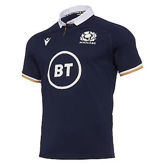 Macron Scotland Rugby Mens Home Replica Shirt | Navy | 2020/21