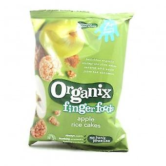 ORGANIX (VEGETARIAN) - Organic Apple Rice Cakes