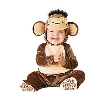 Baby Age 6 - 24 Months Monkey Costume Toddler Animal Fancy Dress