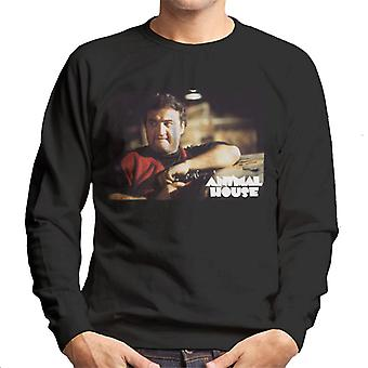 Animal House John Bluto Blutarsky Wearing Red Top Men's Sweatshirt