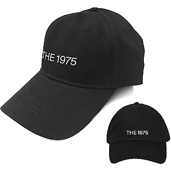1975 -- شعار الرجال & apos ؛ ق قبعة البيسبول -- أسود