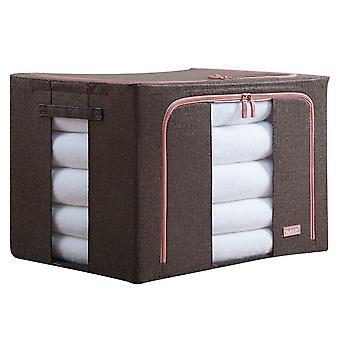YANGFAN Oxford Fabric Waterproof Foldable Visual Storage Box