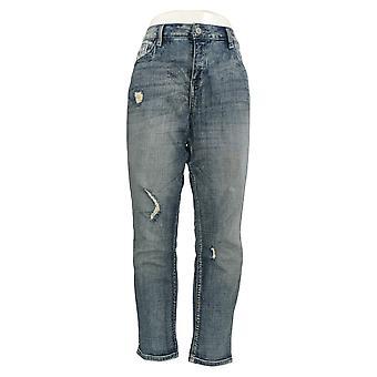 Laurie Felt Women's Jeans Sim Cropped Weekenders Blue A367030