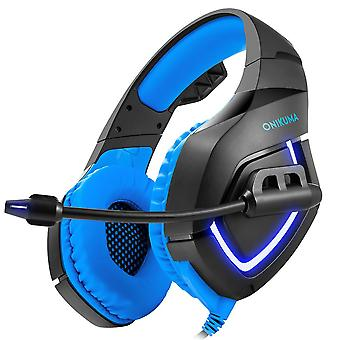 ONIKUMA K1-B Gaming Headphone Flexible Light Bass Stereo Over Ear Headset