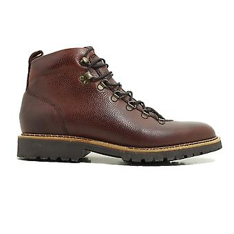 Barker Glencoe Cherry Grain Calf Leather Mens Hiking Style Lace Up Boots
