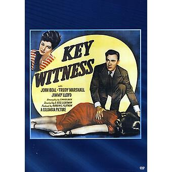 Key Witness [DVD] USA import