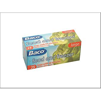 Baco Food & Freezer Bags Small x 50 85B30