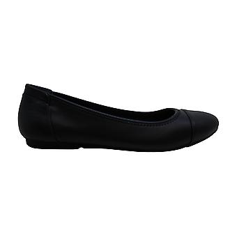 Alfani Women's Shoes Tavii2 Leather Closed Toe Slide Flats