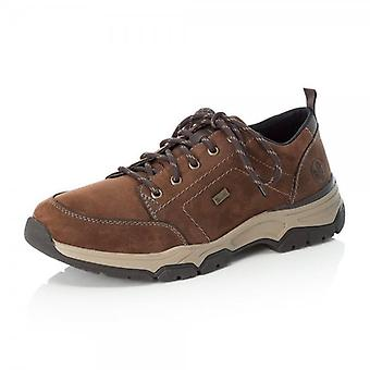 Rieker 11222-22 Bert Riekertex Men's Casual Lace Up Shoes In Brown