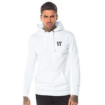 Eleven Degrees 11 Degrees 11d-002-002 Core Pull Overhead Hoodie - White