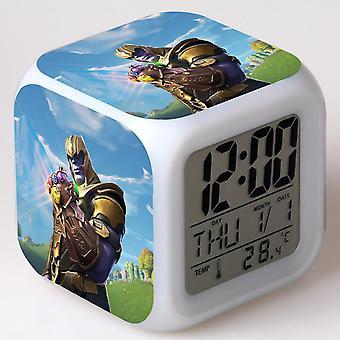 Colorful Multifunctional LED Children's Alarm Clock -Quinze dias #42