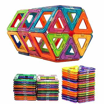 100pcs/50pcs Magnetice Building Blocks-Magnetic Designer Constructii Set Model