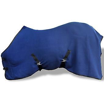 بطانية الحصان بطانية الصوف بطانية العرق مع حزام الصليب 145 سم الأزرق