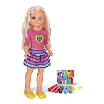 Doll Famosa Nancy a day making highlights (43 cm)