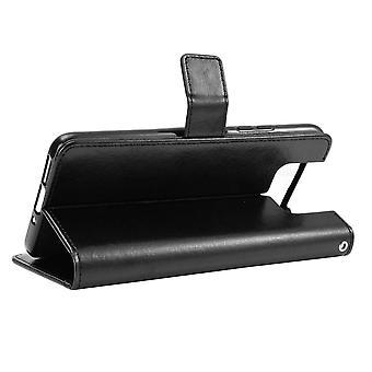 Asus Zenfone 7/7 Pro Wallet Case Zwart