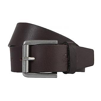 OTTO KERN belts men's belts leather belt dark brown 2254