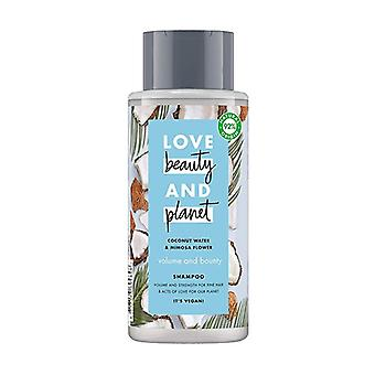 Coconut water and mimosa flower shampoo 400 ml