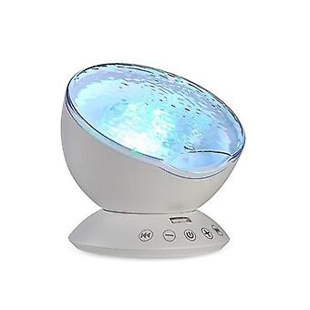 Version Remote Ocean  Romantic Starlight Projection Lamp Usb