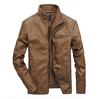 الرجال دراجة نارية السترات الجلدية، معطف بو Streetwear، مان مفجر الدعاوى