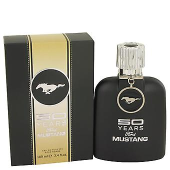 50 anos Ford Mustang Eau De Toilette Spray Por Ford 3.4 oz Eau De Toilette Spray
