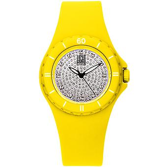 Light time watch silicon strass l122gi