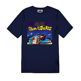 Death Row Records Snoop Dogg Gin and Juice Official Tee T-Shirt Unissex