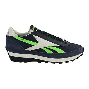 Reebok Asteca OG Suede Mens Running Casual Lace Up Trainers Navy BD3525 B66C