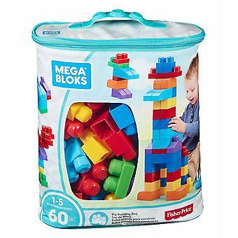 Mega Bloks Classic Buildable Bag 60 Pieces